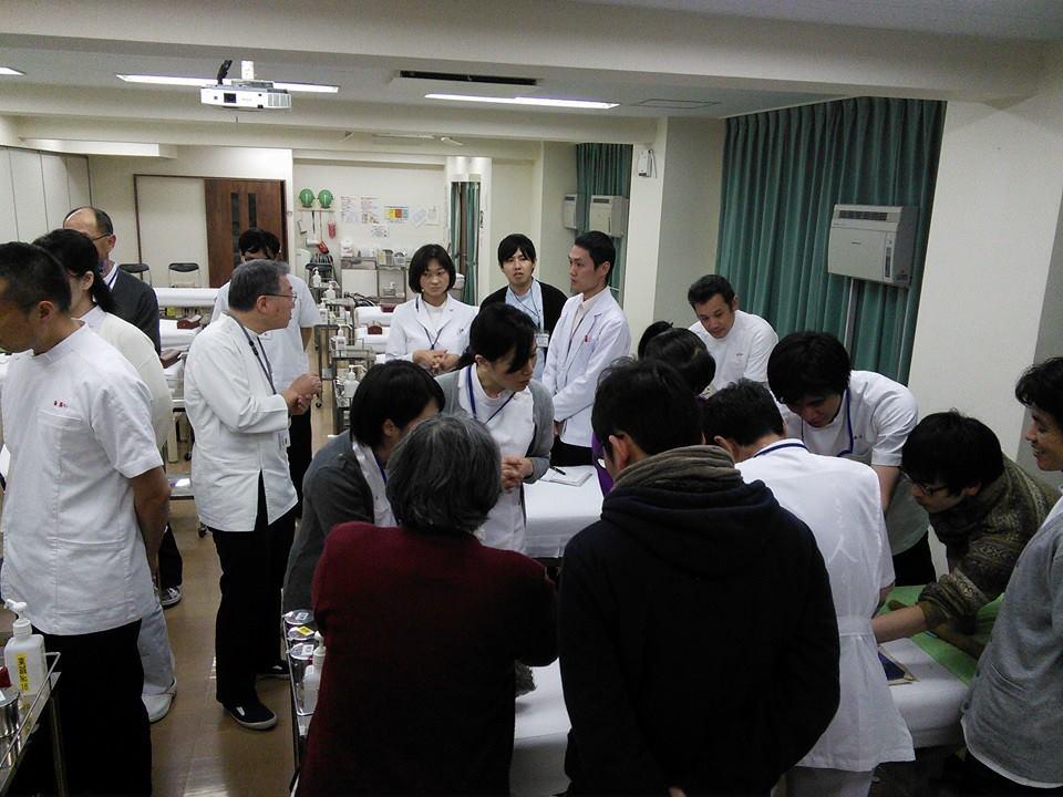 もぐさの製造に関する講演風景-東洋鍼灸専門学校様_2015-02