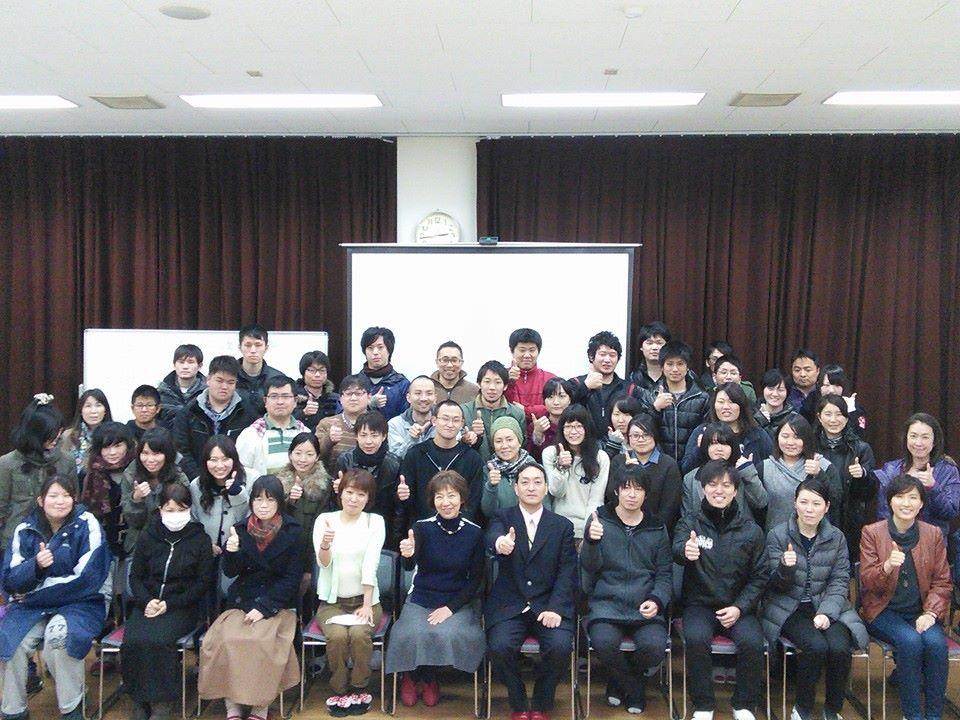 もぐさの製造に関する講演風景-四国医療専門学校様_2015