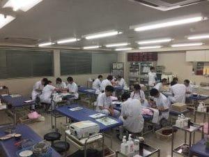もぐさの製造に関する講演風景-東京衛生学園専門学校様_2019
