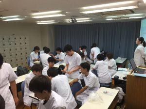 もぐさの製造に関する講演④-関西医療学園専門学校様_2019年