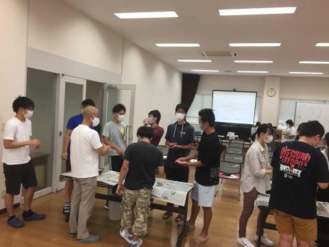 もぐさの製造に関する講演風景-四国医療専門学校様_2020